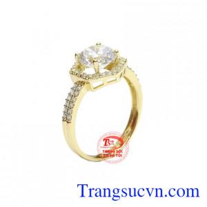 Nhẫn nữ tinh tế Hàn Quốc