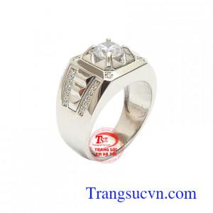 Nhẫn Nam Hàn Quốc Thịnh Vượng vàng 10k kiểu dáng đẹp, chất lượng cao, nhập khẩu nguyên chiếc