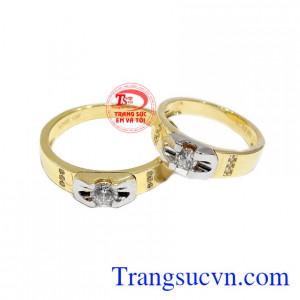 Nhẫn cưới độc đáo Korea