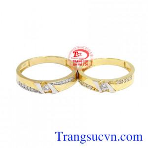 Nhẫn cưới đẹp Korea mang đến cho các cặp đôi một sản phẩm tinh tế, thời trang.