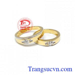 Đôi nhẫn cưới thủy chung