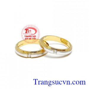 Nhẫn cưới gắn kết tình yêu
