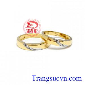 Nhẫn cưới tình yêu sâu sắc