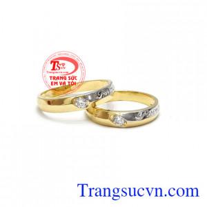 Đôi nhẫn cưới forever