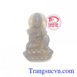 Phật quan âm đá mã não
