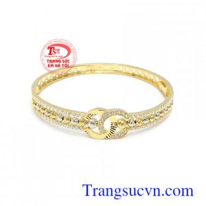 Vòng tay vàng tây 10k thời trang