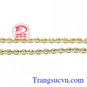 Dây nữ sang trọng vàng 10k đẹp tinh tế được phái đẹp ưa thích