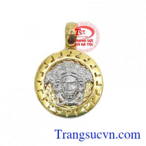 Mặt dây Versace phong cách vàng 10k