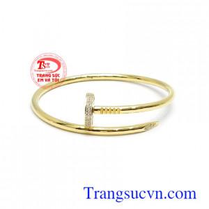 Vòng tay vàng Korea quý phái