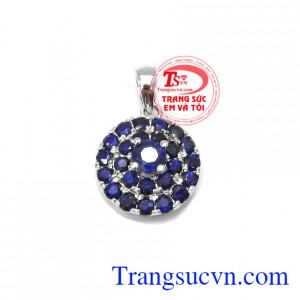 Mặt dây sapphire quý phái