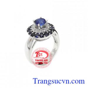 Nhẫn nữ sapphire quý tộc