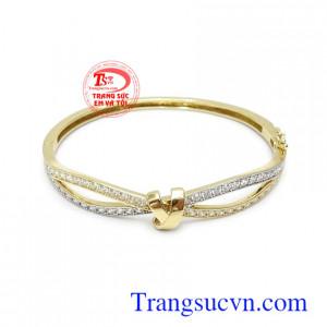 Vòng tay Korea vàng màu xinh xắn