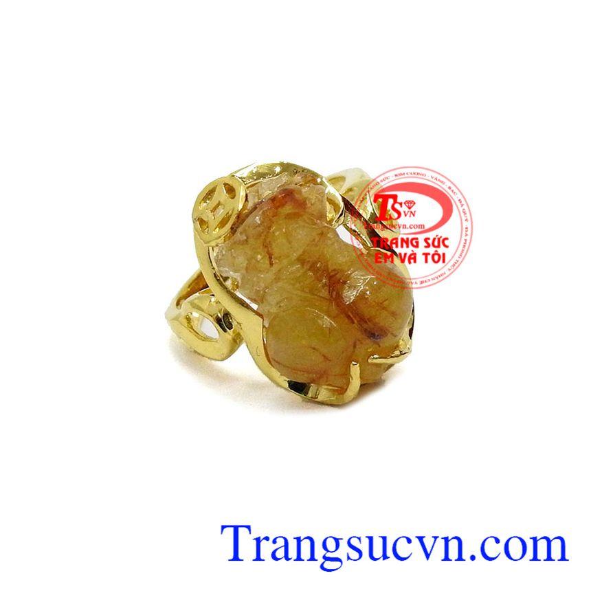 Nhẫn nữ vàng tỳ hưu đẹp là sản phẩm tỳ hưu được chạm khắc tinh tế, sắc nét
