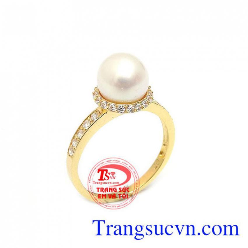Nhẫn Ngọc Trai Phú Quý