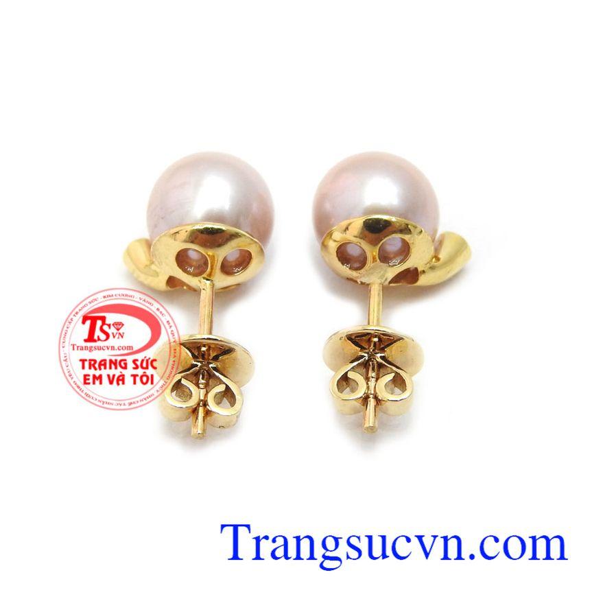 Hoa Tai Ngọc Trai Hạnh Phúc là sản phẩm ý nghĩa dành tặng phái đẹp