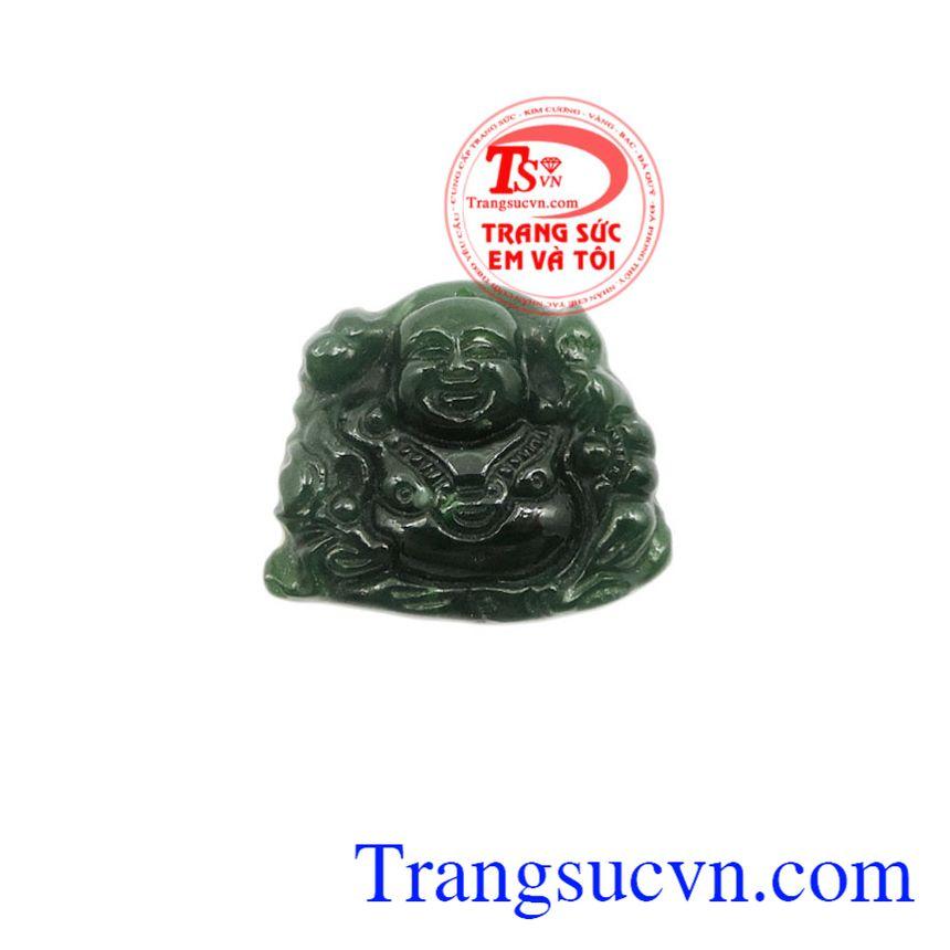 Mặt Phật Di Lặc Nephrite đẹp