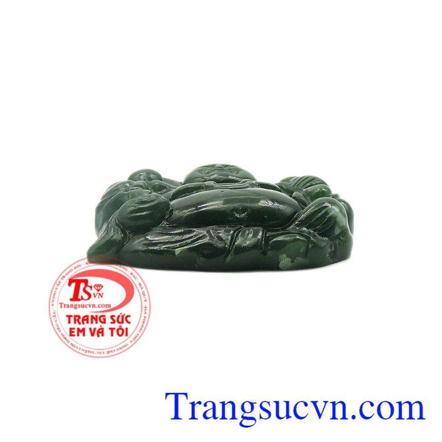 Mặt Phật Di Lặc có thể được dùng làm mặt dây chuyền, phù hợp để làm quà tặng cho người thân bạn bè.