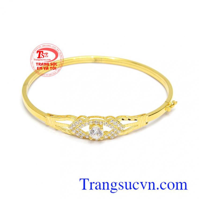 Vòng tay vàng 10k phong cách