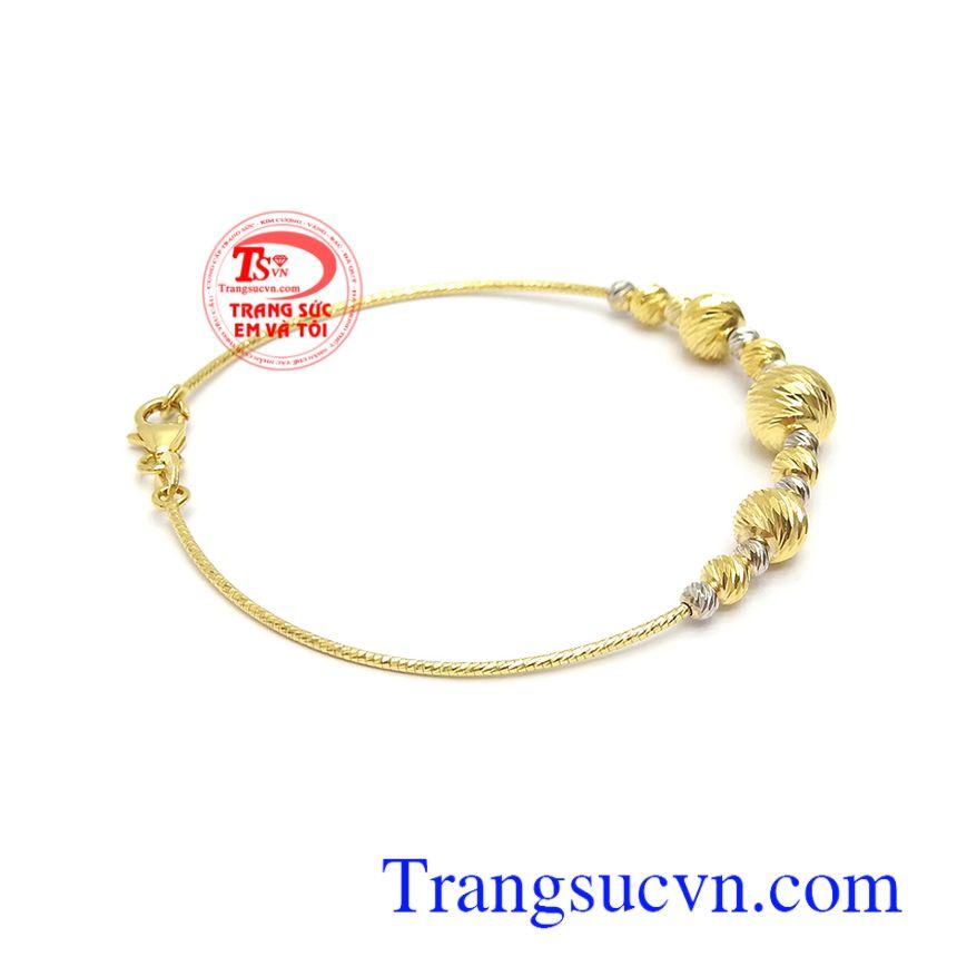 Lắc tay vàng tây nhập khẩu nguyên chiếc thời thượng