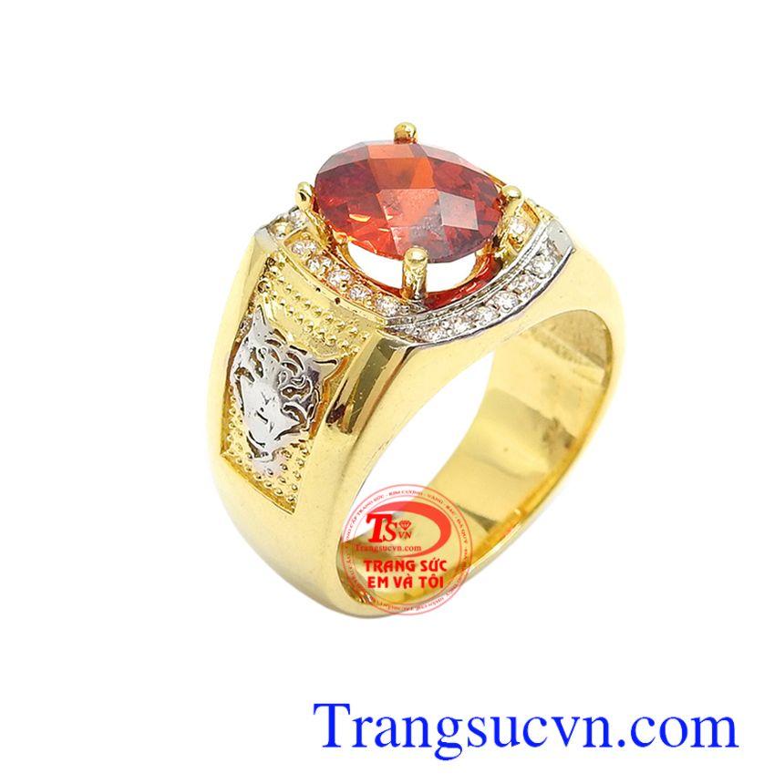 Nhẫn nam vàng 10k thời thượng