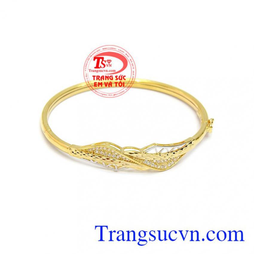Vòng tay phong cách vàng 10k