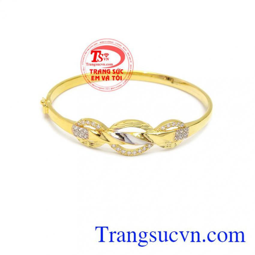 Vòng tay quý phái vàng 10k