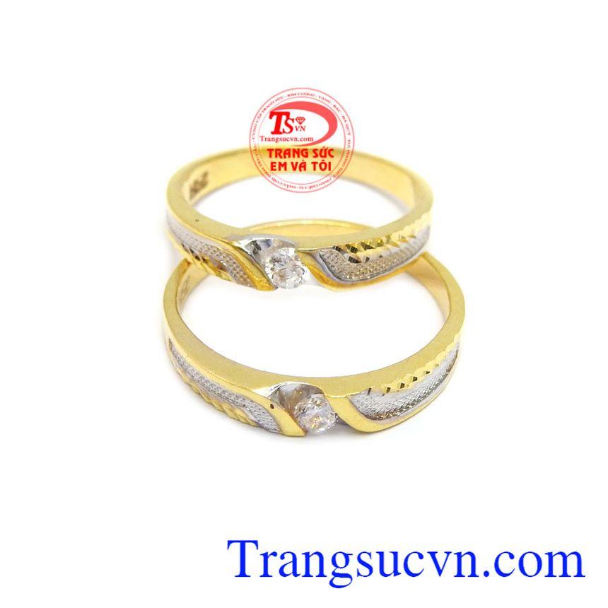 Nhẫn cưới sẽ là minh chứng cho một tình yêu bền chặt, bên nhau mãi mãi của lứa đôi.