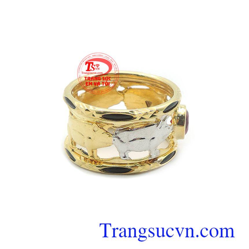Nhẫn nam vàng tây đẳng cấp, là món quà ý nghĩa cho người yêu thương