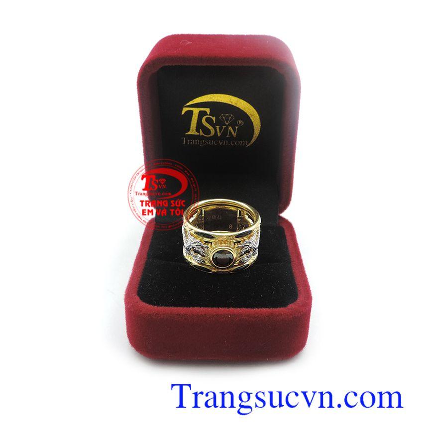 Nhẫn nam vàng 10k uy tín, chất lượng, chế tác theo yêu cầu