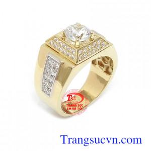 Nhẫn nam vàng tây 10k đẳng cấp