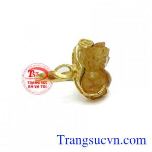 Nhẫn nữ vàng tỳ hưu đẹp, bảo hành 6 tháng, giao hàng nhanh trên toàn quốc