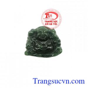 Mặt Phật Di Lặc Nephrite đẹp.
