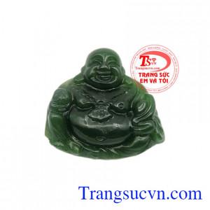Mặt Nephrite Phật Di Lặc