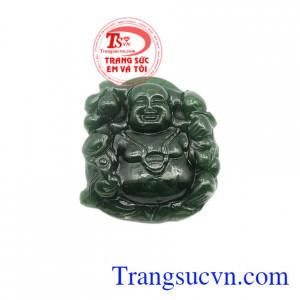 Mặt Phật Di Lặc Nephrite chất lượng.