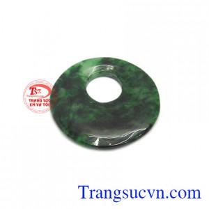 Mặt ngọc jadeite thiên nhiên phú quý