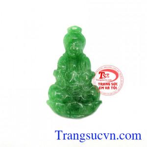 Phật quan âm jadeite bình an