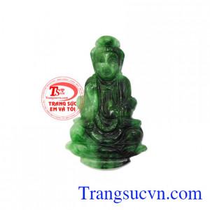 Phật quan âm Jadeite thiên nhiên
