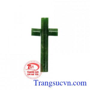 Mặt dây thánh giá ngọc Jadeite