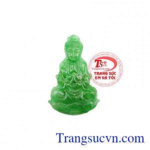 Mặt Phật Quan Âm cẩm thạch an yên