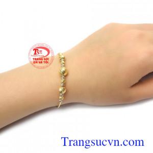 Lắc tay vàng thương hiệu uy tín, chất lượng, chế tác theo yêu cầu