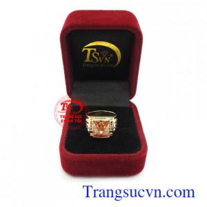 Nhẫn nam vàng thương hiệu uy tín, chất lượng, giao hàng toàn quốc