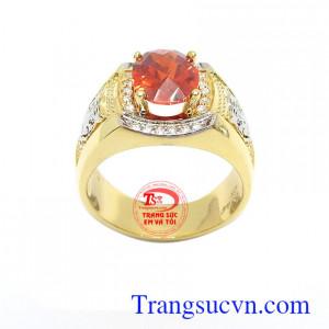 Nhẫn nam vàng 10k thời thượng phù hợp phong cách thời trang phái mạnh, mang lại sự cá tính, phong cách riêng, thời trang và đẳng cấp