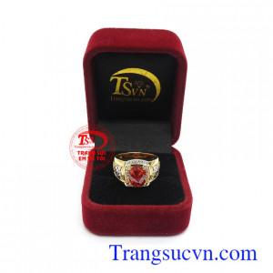 Nhẫn nam vàng tây uy tín, chất lượng, chế tác theo yêu cầu