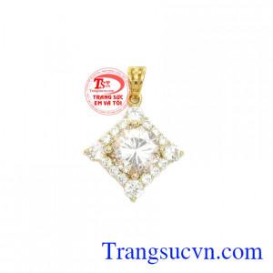 Mặt dây quý phái vàng 10k