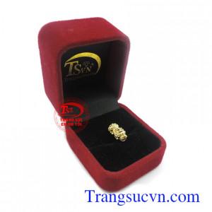 Mặt dây tỳ hưu vàng 10k bền đẹp, chất lượng, giao hàng toàn quốc