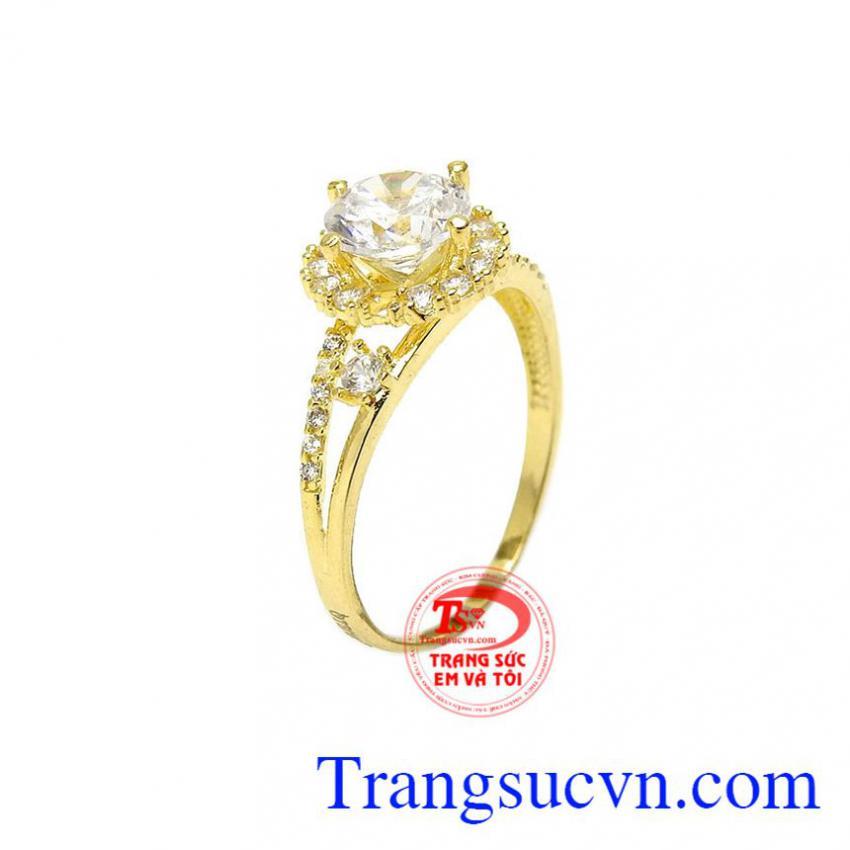 Nhẫn nữ vàng 10k sang trọng