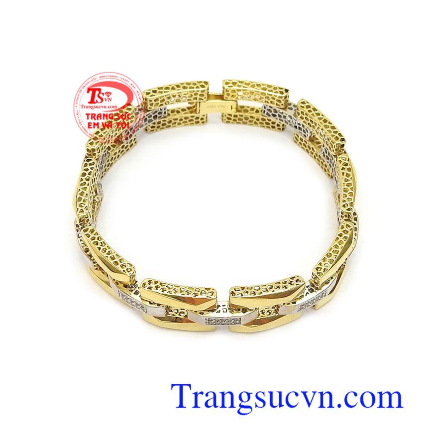 Lắc tay vàng tây 18k thời trang