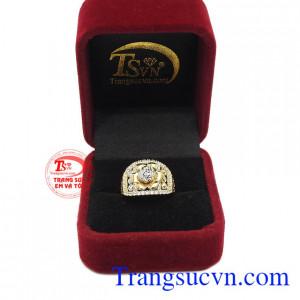 Nhẫn nữ vàng 10k thời trang