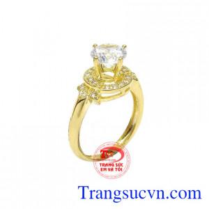 Nhẫn nữ vàng 10k đẳng cấp