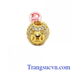 Charm kim tiền vàng 10k